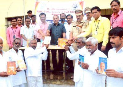 Books donation to Central Prison
